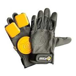 SECTOR 9 SURGEON SLIDE GLOVE JAUNE
