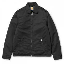 MODULAR JACKET BLACK RINSED
