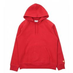HOODED CHASE SWEAT BLAST RED GOLD 18