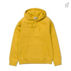HOODED CHASE SWEAT COTTON/POLYESTER QUINCE/GOLD