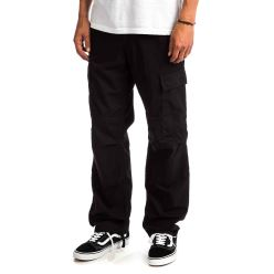 REGULAR CARGO PANT BLACK RINSED 18