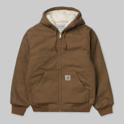 ACTIVE PILE JACKET HAMILTON BROWN