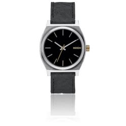 TIME TELLER BLACK BRASS