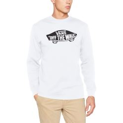MN OTW LONG SLEEVE WHITE/BLACK