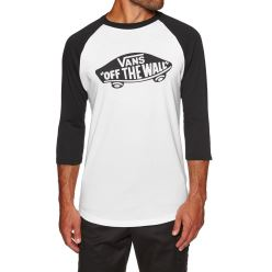 OTW RAGLAN WHITE BLACK