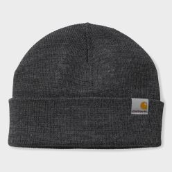 STRATUS HAT LOW ACRYLIC DARK GREY HEATHER