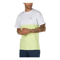 COLORBLOCK TEE WHITE SUNNY LIME