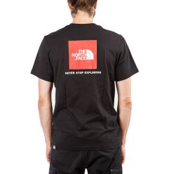 S/S RED BOX TEE TNF BLACK