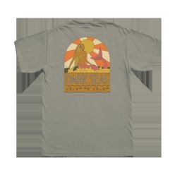 DARK SEAS COAST TO COAST PIGM TEE SANDSTONE