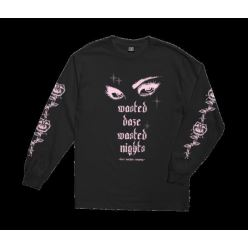 LOSER MACHINE WASTED DAZE L/S BLACK