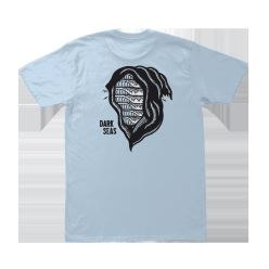 DARK SEAS SBK X DS DEAD HEAD PREM TEE POWDER BLUE