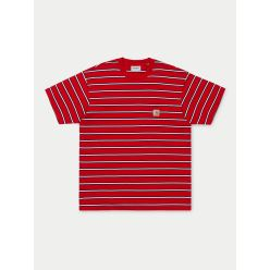 HOUSTON POCKET T-SHIRT CARDINAL