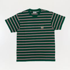 HOUSTON POCKET T-SHIRT DRAGON STRIPE