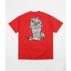 T SHIRT TRASHCAN RED
