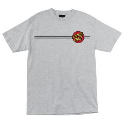 OG CLASSIC DOT TEE DARK HEATHER
