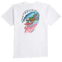 WAVE SLASHER TEE WHITE