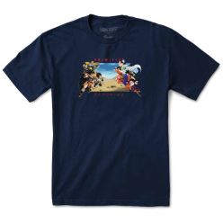T-SHIRT DBZ BATTLE NAVY