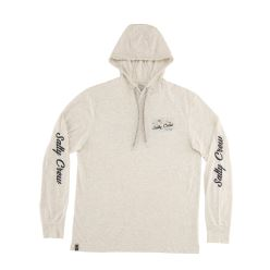 FRENZY TECH L/S HOOD WHITE