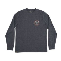 TWIN FIN L/S PREMIUM TECH TEE NAVY
