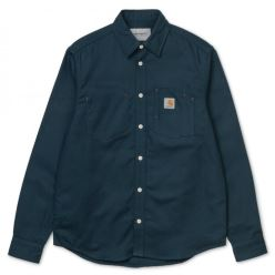 L/S TONY SHIRT DUCK BLUE RIGID