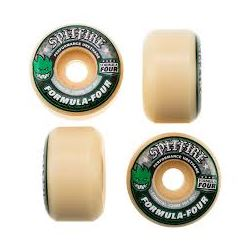 WHEELS F4 CONICAL 101D GREEN 53MM