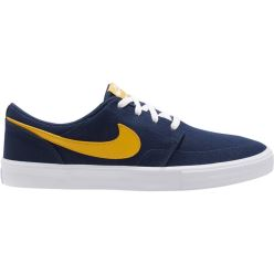 PORTMORE II SOLAR CNVS MIDNIGHT NAVY UNIVERSITY GOLD