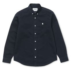 L/S MADISON SHIRT DARK NAVY WAX