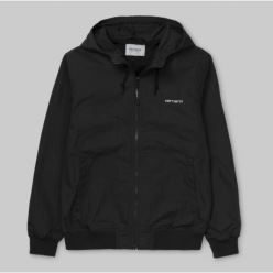 MARSH JACKET BLACK WHITE
