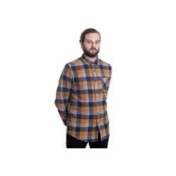 CADEN PLAID L/S BRONZE