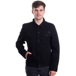 WEAVER DENIM JACKET BLACK