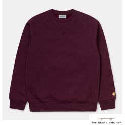 CHASE SWEAT 58/42 BORDEAUX/ GOLD