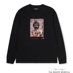 L/S 1998 AD JAY ONE T-SHIRT BLACK