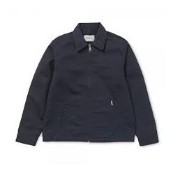 MODULAR JACKET DARK NAVY RINSED