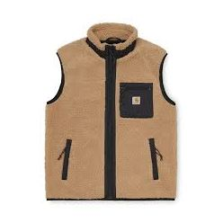 PRENTIS VEST LINER DUSTY H BROWN