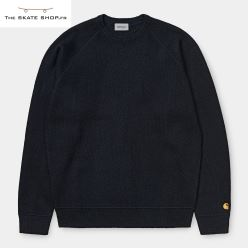 CHASE SWEATER DARK NAVY GOLD