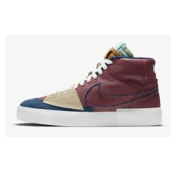 ZOOM BLAZER MID EDGE TEAM RED NAVY LIGHT DEW