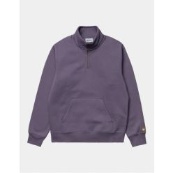 CHASE NECK ZIP SWEAT PROVENCE GOLD