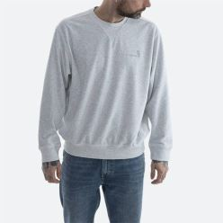HOODED UNITED SCRIPT SWEAT ASH HEATHER