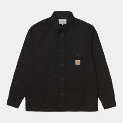 L/S RENO SHIRT BLACK
