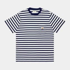 S/S SCOTTY POCKET T SHIRT SCOTTY STRIPE DARK NAVY
