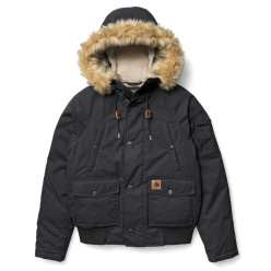 DAWSON JACKET COTTON BLACK